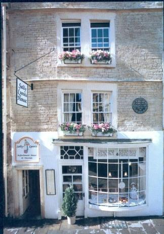 Sally Lunn's Exterior c1990
