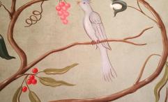 Handmade wallpaper
