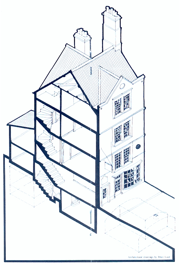 House drawing | Sally Lunn's