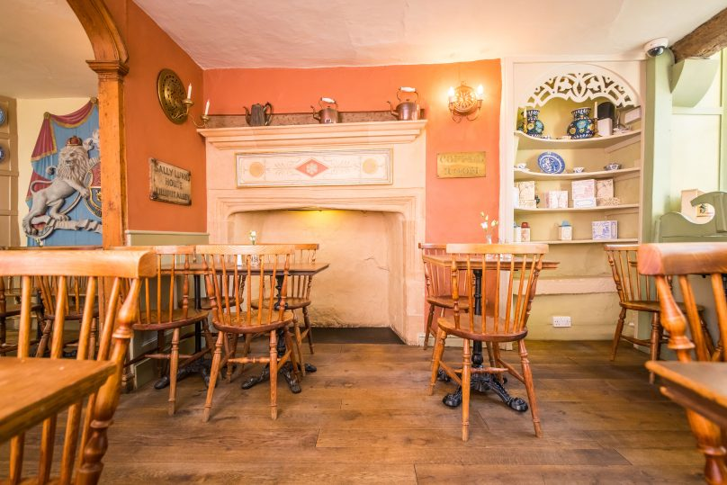 Ground Floor – Hanovarian Arch – Sally Lunn's Bath
